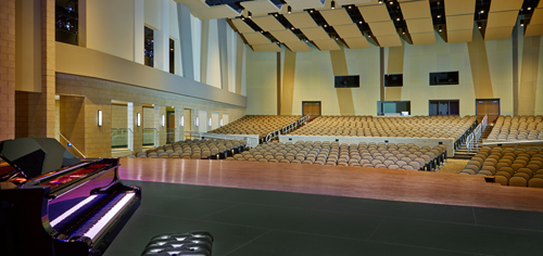 Bettendorf High School performing arts center