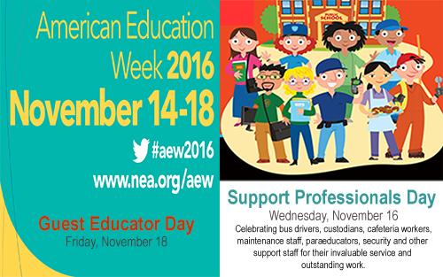 BCSD :: American Education Week - Nov. 14-18