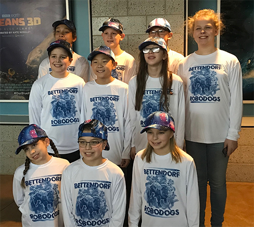 2018 5th-6th Robodog team
