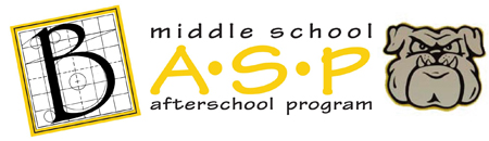 Middle school afterschool program graphic