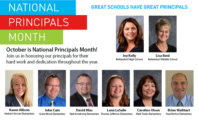 Principals month graphic